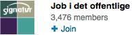 LinkedIn gruppe: Job i det offentlige